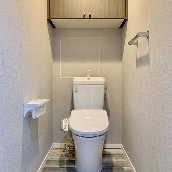トイレもゆとりがあってリラックスできそう