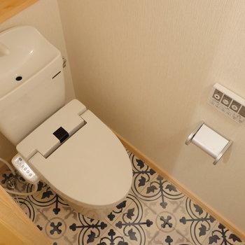 1階にも個室トイレ。