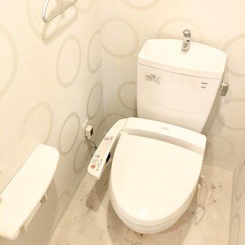 トイレはウォシュレット完備♪