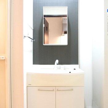 独立洗面台があるってのはいいですね〜美意識高いあなたにはいい感じ♪