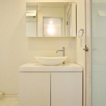 このまるんとした洗面器がかわいい、、※写真は前回募集時のものです