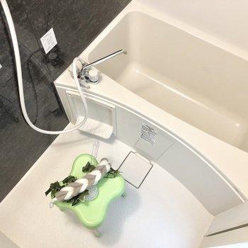 冬はやっぱりお風呂に浸かりたい。※写真の家具類はイメージです