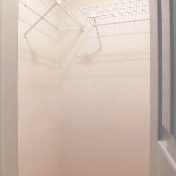 収納も大きめ。※写真は同階の同間取り別部屋のものです