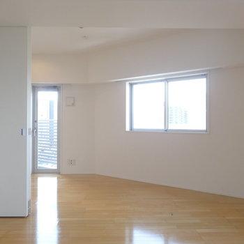 ここは…※写真は8階の同間取り別部屋のものです