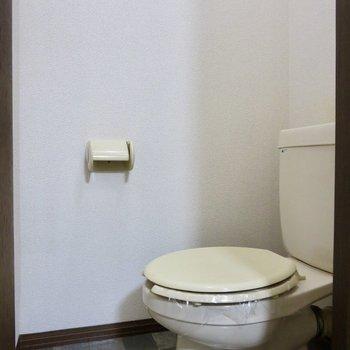 タイルがステキなトイレ