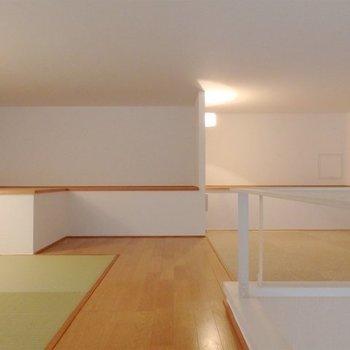 飾り棚も設けられています。※写真は同タイプの別室