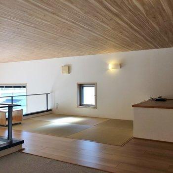 琉球畳でほっこり。