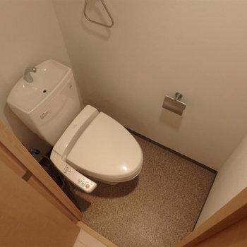 トイレもきれいです。※写真は同タイプの別室