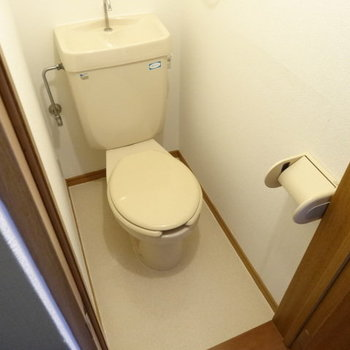 トイレもキレイです!