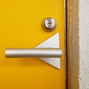 チーズみたいなドア