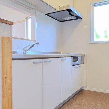【ldk】キッチンはホワイトカラー