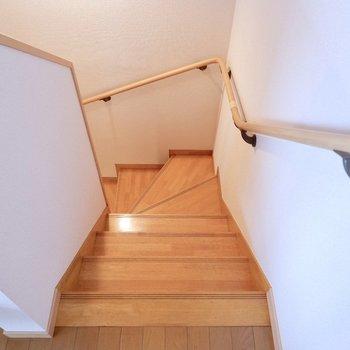 それでは1階へ行きましょう。