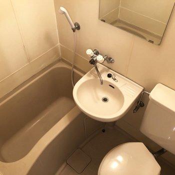 3点ユニットのバスルーム