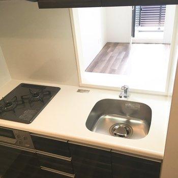 【LDK】オープンキッチン、、かな?