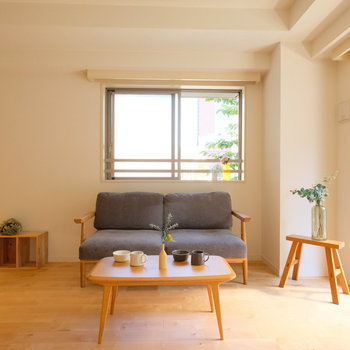 【完成イメージ】広々リビングが気持ちいい!どんな家具を置こうかな?