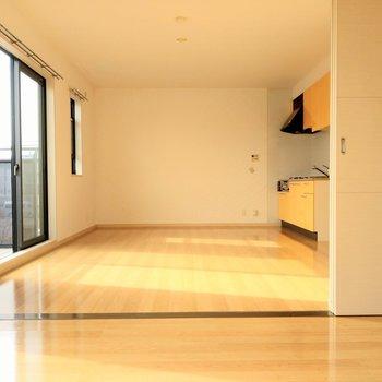 洋室は趣味や子どもの部屋に。LDKとつなげても使い勝手いいです◎