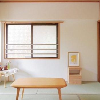 十分広さのある和室です。※家具はサンプルです