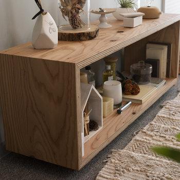 ラグやTVボードなど、一部の家具やインテリアは購入可能です。