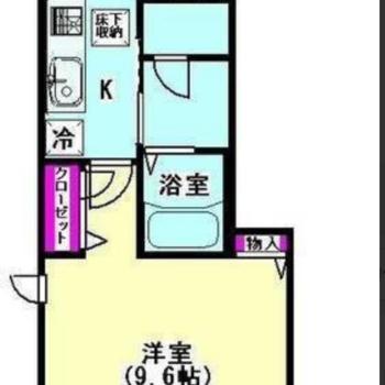 今回は1階のお部屋です。※写真は前回募集時のものです