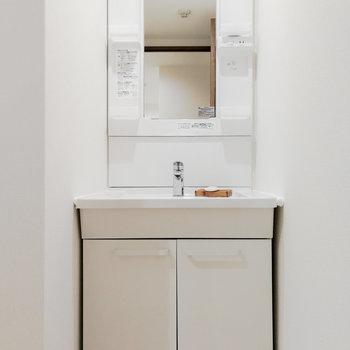 トイレ部分用の洗面台もありますよ。