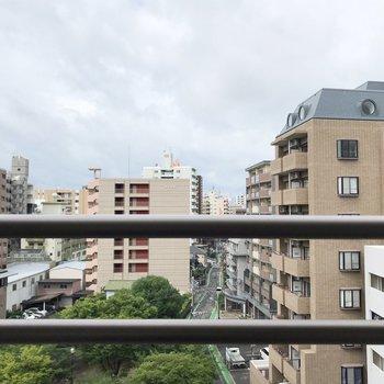 博多の中なのに、抜けている眺望。これは嬉しい!