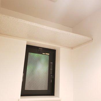トイレの上には棚もあります!(※写真は同間取り別部屋のものです)