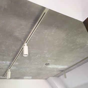 ザ・デザイナーズ!な、コンクリート天井とダクトレール!※写真は前回募集時のものです