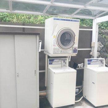 共有部に乾燥機があります!