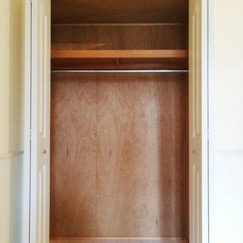 お部屋の収納は2タイプ。※写真は2階の同間取り別部屋のものです