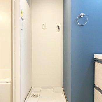 深い青緑カラーがきれい(※写真は9階の同間取り別部屋のものです)