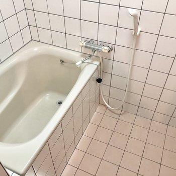 タイルが可愛いお風呂!