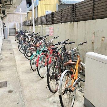 自転車通さんも安心です!