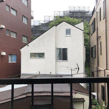 眺望はマンションなど。