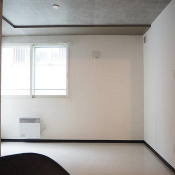 こっちに可動式クローゼット動かしてもいいかも※写真は同間取り別部屋です