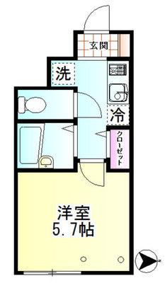 ROW HOUSE 南蒲田 の間取り