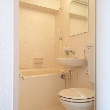 3点ユニットですが、浴室乾燥付き。※写真は前回募集時のものです