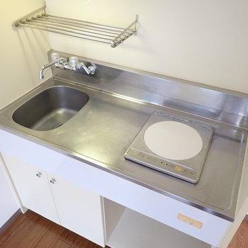キッチンには調理スペースがあります※写真は前回募集時のものです