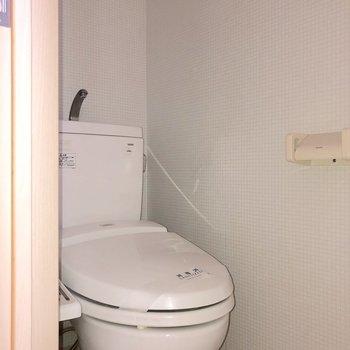 清潔感のあるトイレです※写真は前回募集時のものです