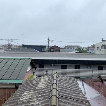 眺望は近隣の住宅街です。