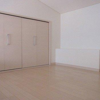 ロフト部分※写真は2階の同間取り別部屋のものです