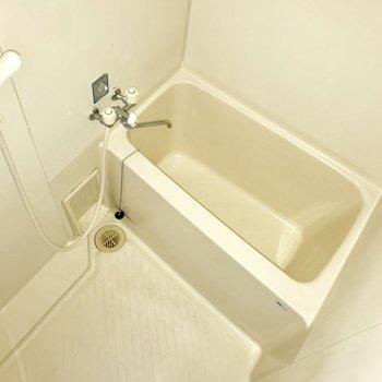 浴室用ラックを用意すれば使いやすそう