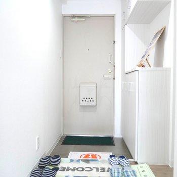 玄関スペースは、ゆとりがあります◎