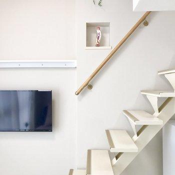 階段に登ってみましょう。