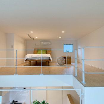 【ロフト】さて、続いてロフトを見ていきましょう。※写真は2階の同間取り別部屋のものです