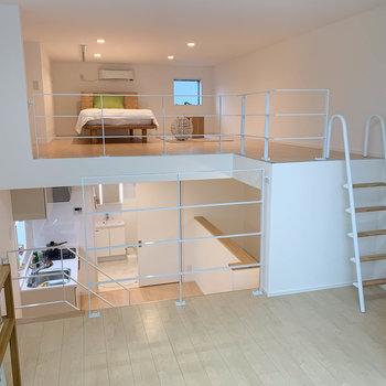 3フロアに分かれるお部屋です。※写真は2階の同間取り別部屋のものです