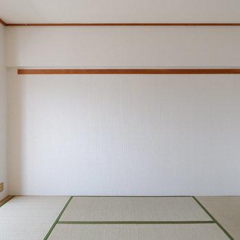 【6帖ベッドルーム】和室でゴロンとしたい。※写真は4階の同間取り別部屋のものです