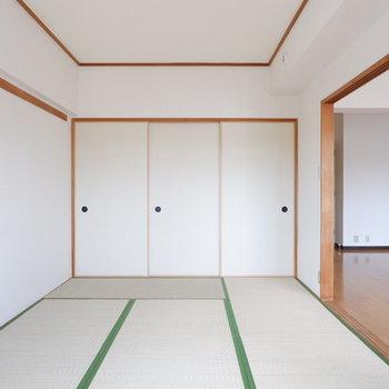 【6帖ベッドルーム】和室も広さあります◎※写真は4階の同間取り別部屋のものです