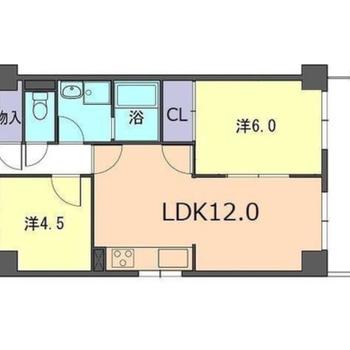 LDK12帖!家族で住みたい2LDK。