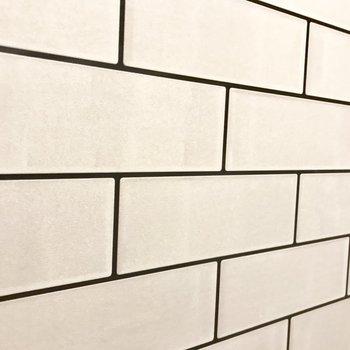 ちなみに壁はクロスですよ