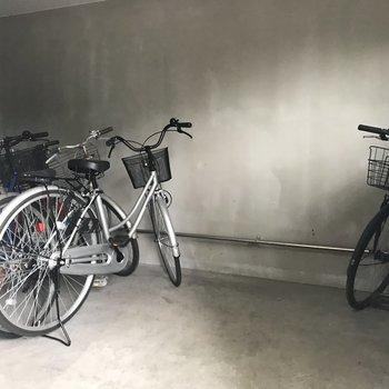 駐輪所もあります◎ラッキー!